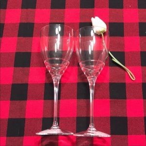 🍀💲 Kate Spade Lenox Wine Glass Set